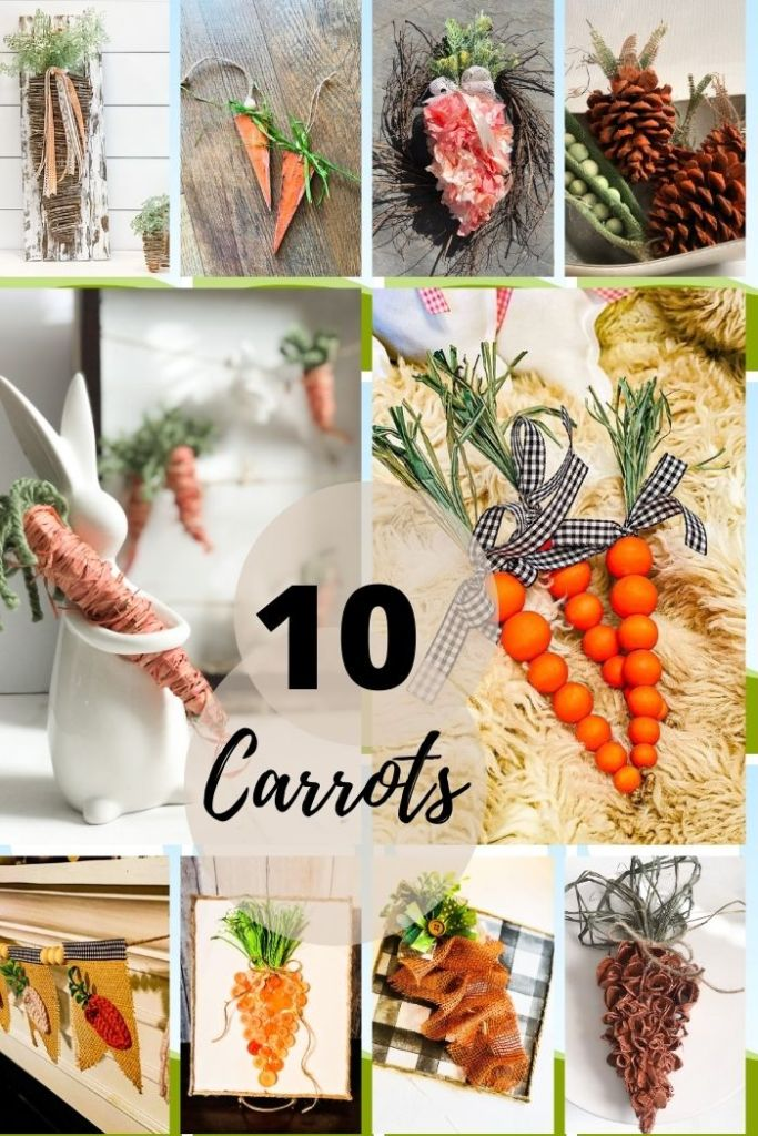 10 carrot crafts