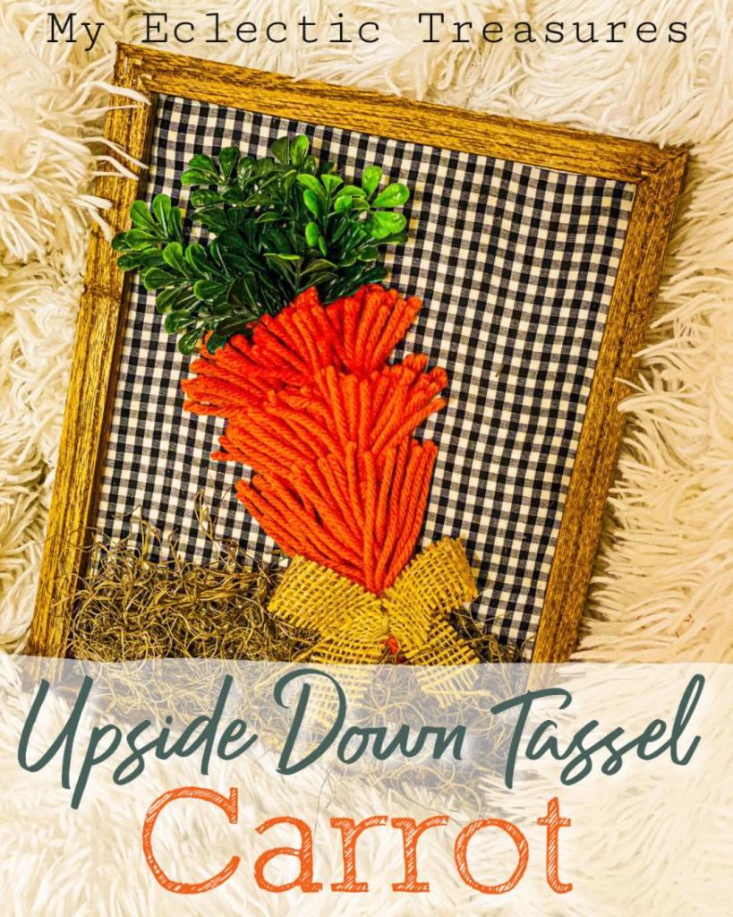 tassel carrot craft