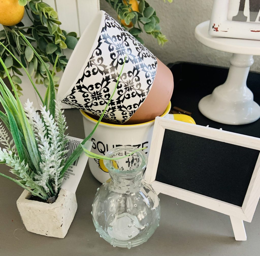 dollar general decor from Word and Home blog
