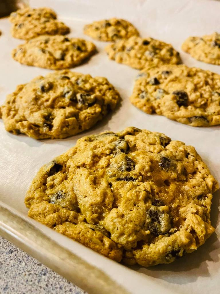 gluten free chocolate chip cookie   no flour cookie recipe   #glutenfreecookies