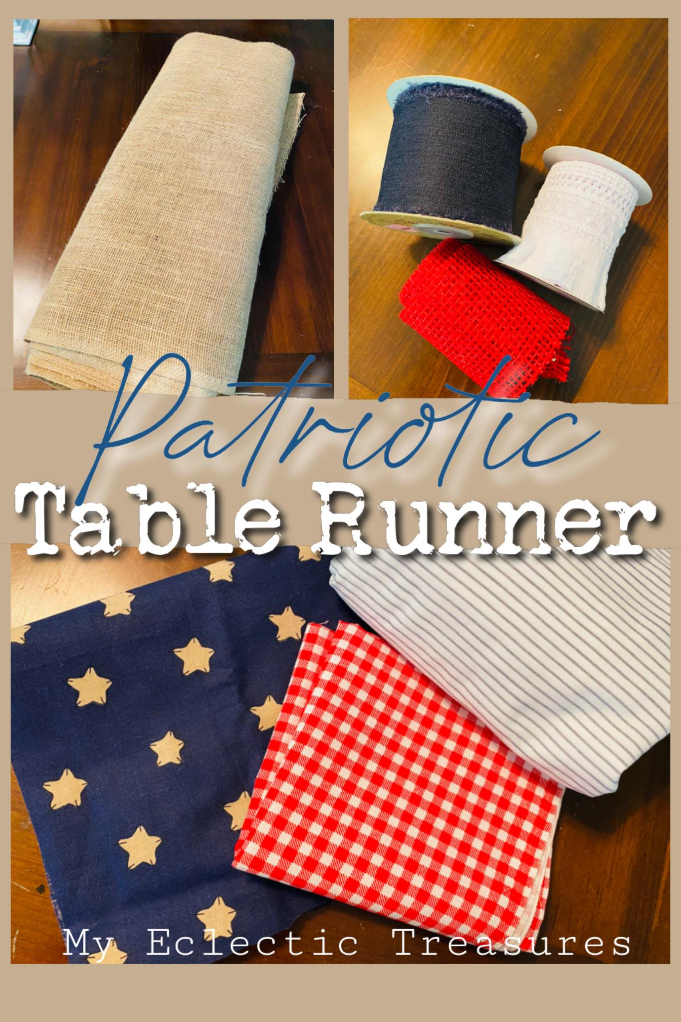 You are currently viewing Patriotic Table Runner – How to Make Your Own!