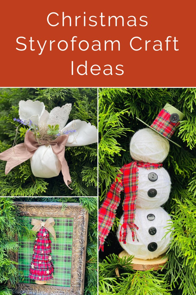 Christmas styrofoam craft ideas