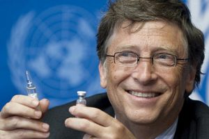 Bill Gates promoting vaccines to reduce our carbon footprint