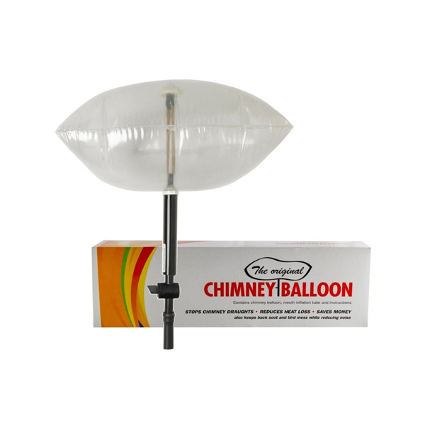 Chimney Balloon Draught Excluder My Eco Hub