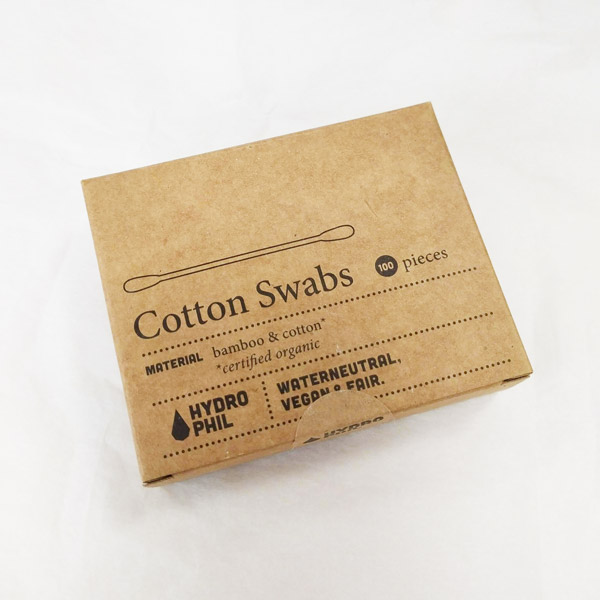 Hydrophil Eco Friendly Bamboo Cotton Swabs