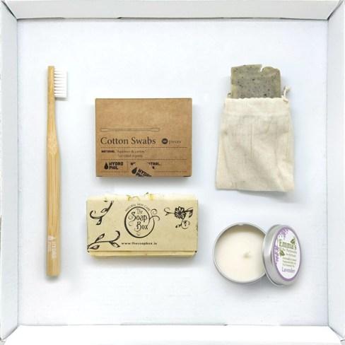 Natural Biodegradable Eco Friendly Bathroom Supply Box