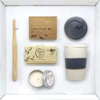 Eco Friendly Starter Kit Supply Box Bamboo