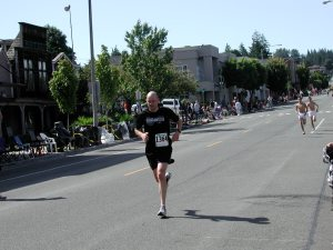 A runner from 2011's July 4th event.