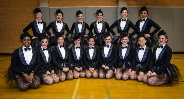 Congratulations to the Edmonds-Woodway High School dance team, which qualified for the state 4A dance championships in three categories during the regional competition on Saturday: Dance, shown here, military and pom.