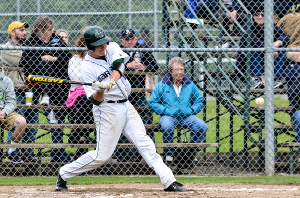 Mac McLachlan went 3-for-4 with a double during Saturday's game.