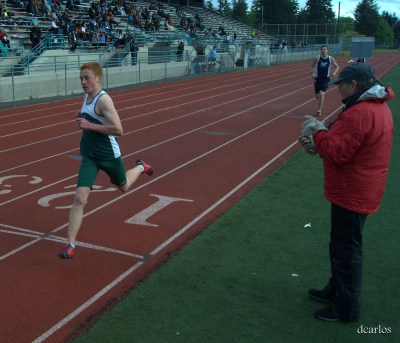 E-W's Miler Haler wins the 1600.