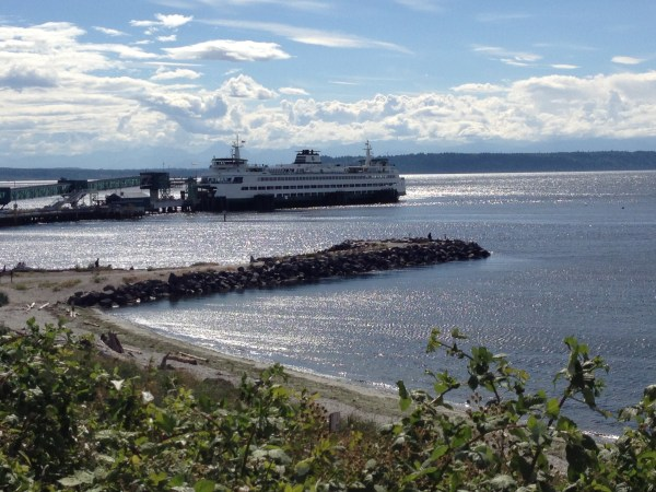 From Jennifer Benson, the Edmonds beach with a low tide and the sunshine beginning to peek out Thursday afternoon.