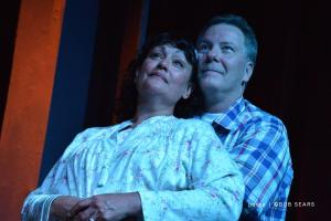 """David Persson and Sam Samano in """"A Place That Looks Like Davenport."""""""