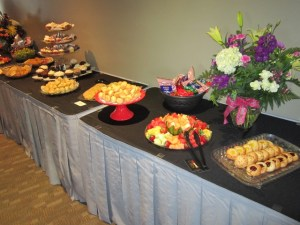 The Edmonds in Bloom reception will feature food and drink.