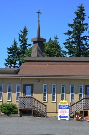 The Edmonds Lutheran Church daycare facility is 813 feet as the crow flies from the proposed location of the J.T. Retail marijuana store at 23329 Highway 99.  Because this falls within the state-mandated 1000 foot buffer, J.T. Retail's license is being denied.