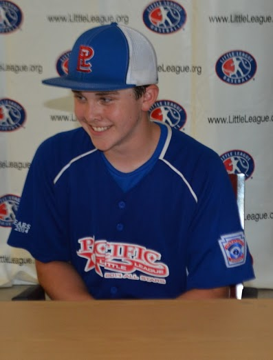 Ian Michael talked to the press after his complete-game performance.