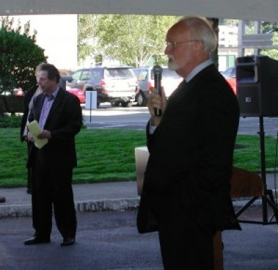 """Mayor Dave Earling called the expansion a """"life-changing"""" event for the community."""
