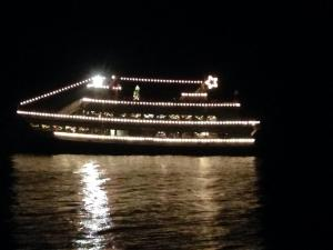 The Argosy Christmas Ship at the Edmonds waterfront in 2014.