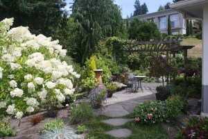 A 2014 Edmonds in Bloom garden.