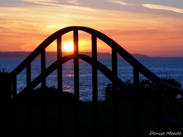 From Denise Meade, different perspectives of Wednesday's sunset along the Edmonds waterfront.