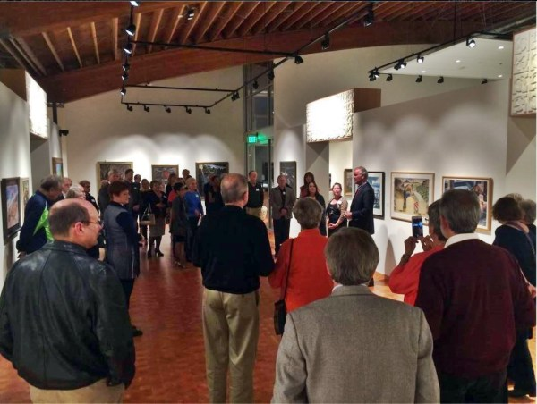 Cascadia Art Museum during a recent event.