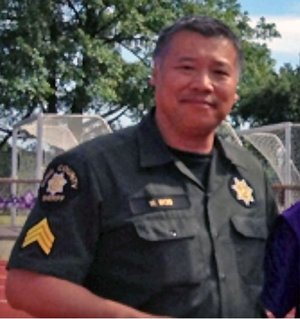 King County Sgt. Wing Woo (Photo courtesy Discover Burien website)