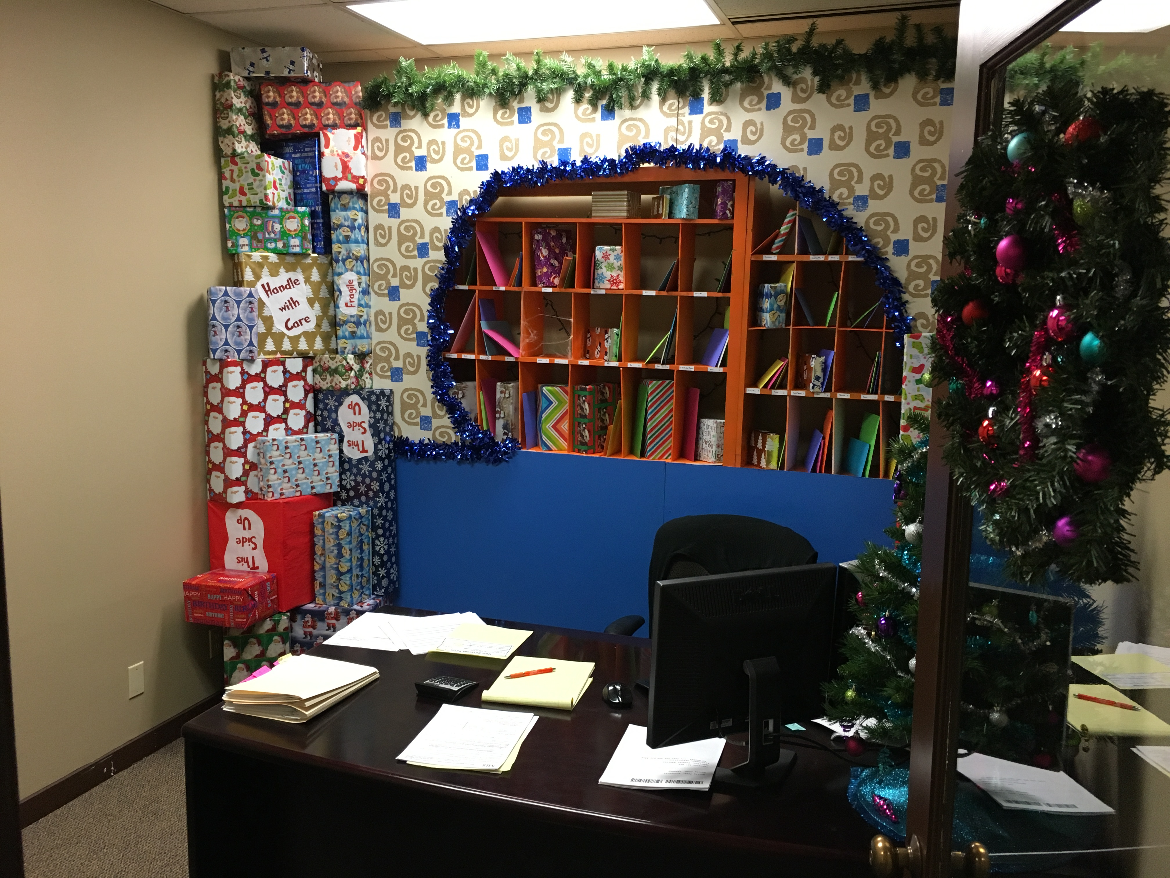 Insurance services group invites all to view 39 christmas cubicles 39 at dec 16 open house my - Post office insurance services ...