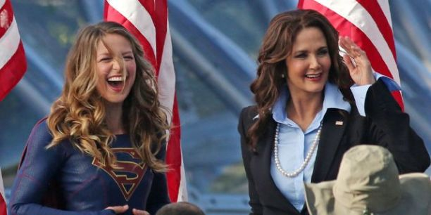 Supergirl and President Olivia Marsdin