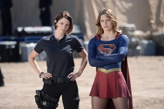 Supergirl and DEO agent Alex Danvers