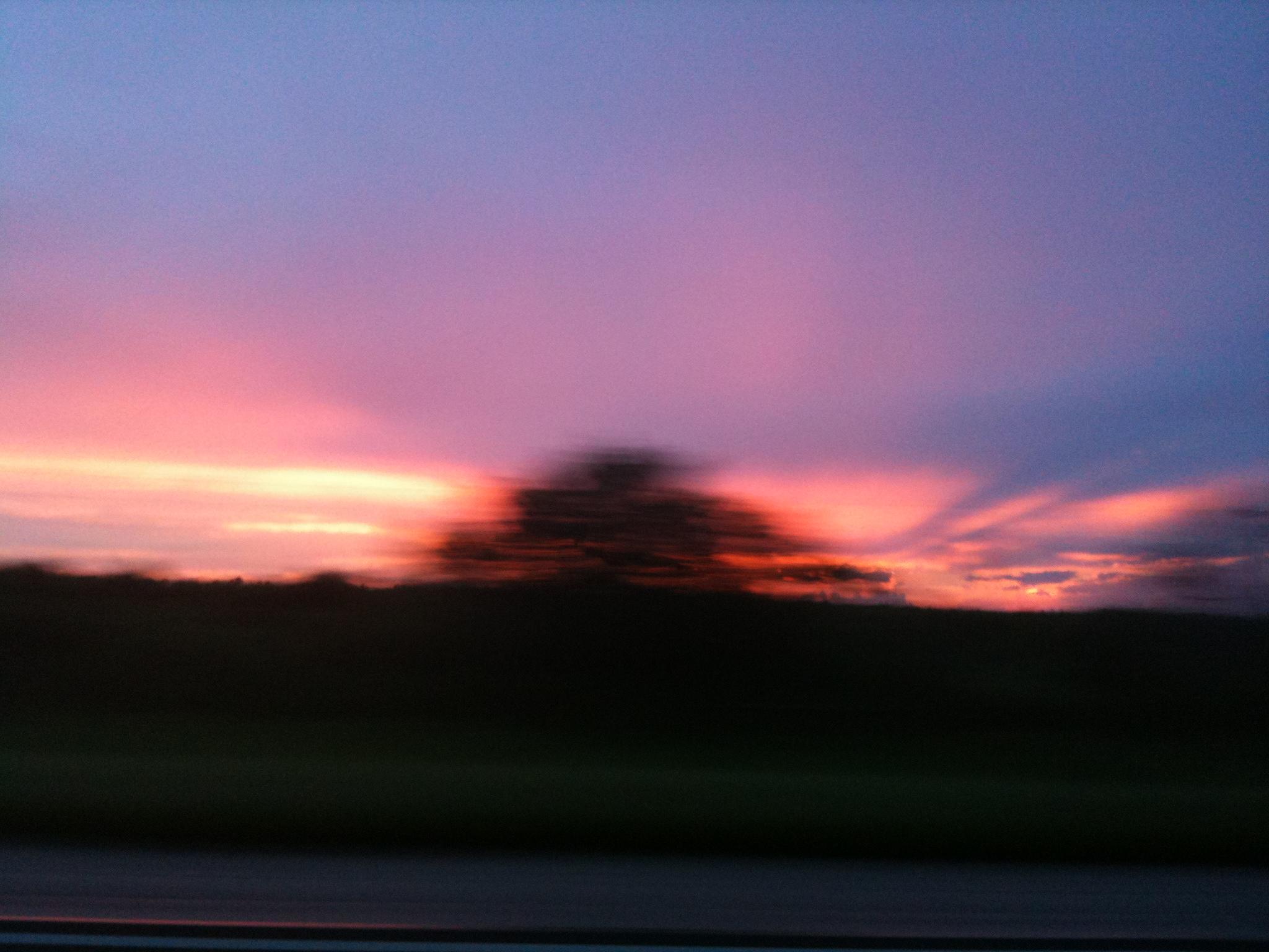 Firey Sunset