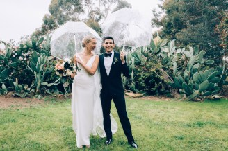 Courtney and Danny at the Paramour Estate in Los Angeles