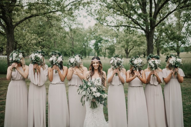 Boho Glam Wedding - Cloverleaf Farms-53