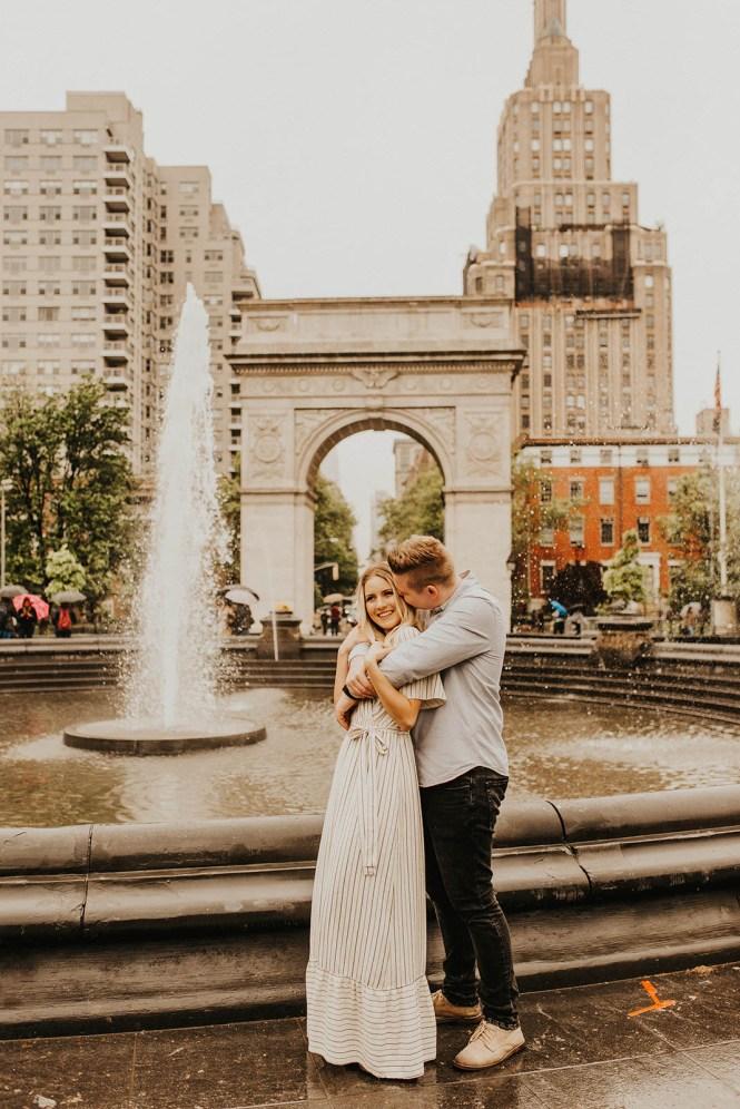 Greenwich Village Engagement Photos-11