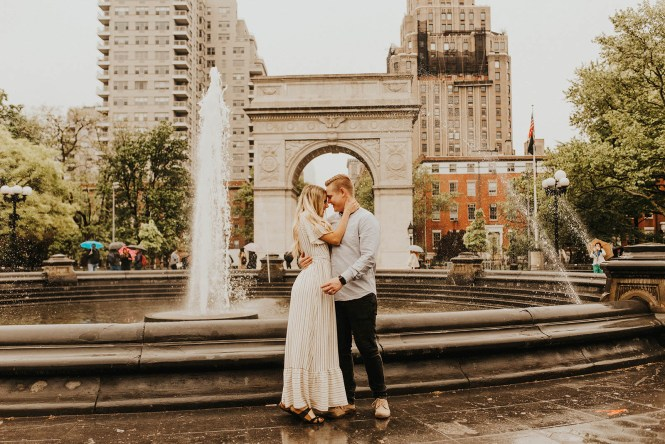 Greenwich Village Engagement Photos-13