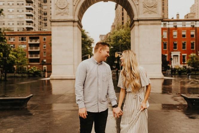 Greenwich Village Engagement Photos-24