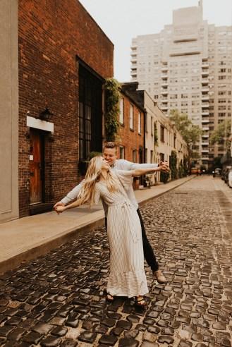 Greenwich Village Engagement Photos-28