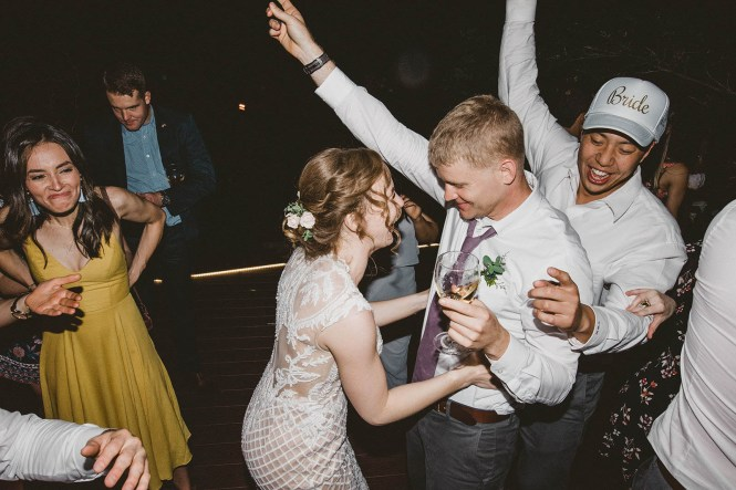 Megan and Patrick - Backyard Boho Wedding-157