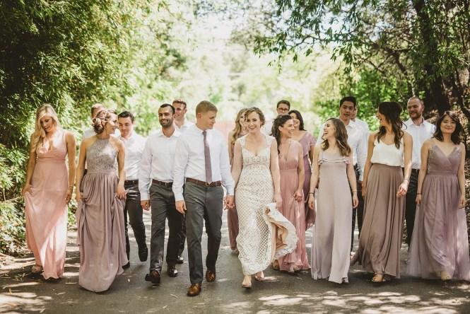 Megan and Patrick - Backyard Boho Wedding-36