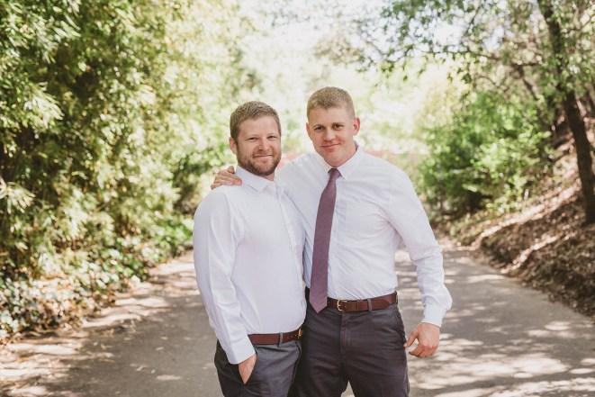 Megan and Patrick - Backyard Boho Wedding-42