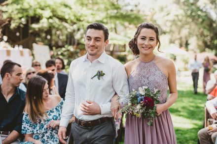Megan and Patrick - Backyard Boho Wedding-73