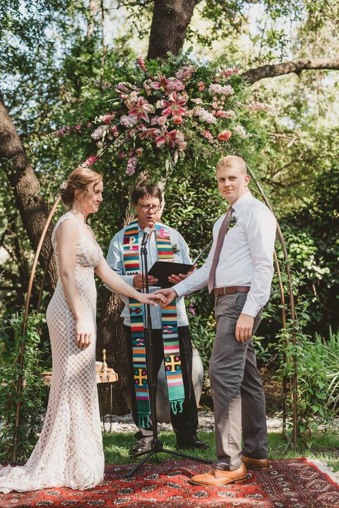 Megan and Patrick - Backyard Boho Wedding-94