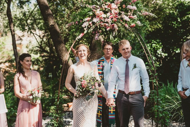 Megan and Patrick - Backyard Boho Wedding-96