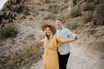 Piestewa Peak Engagement Photos-26