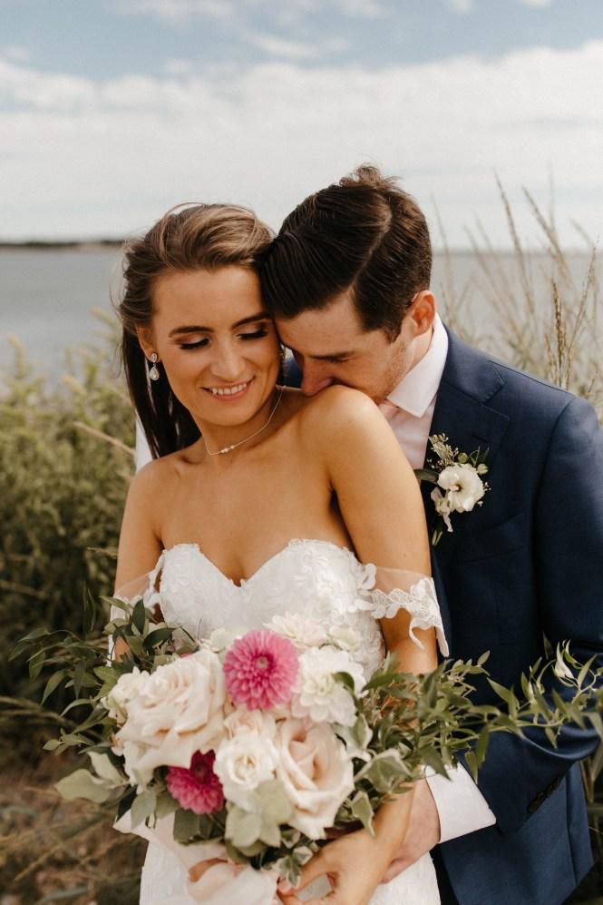 Backyard Shelter Island Wedding-29