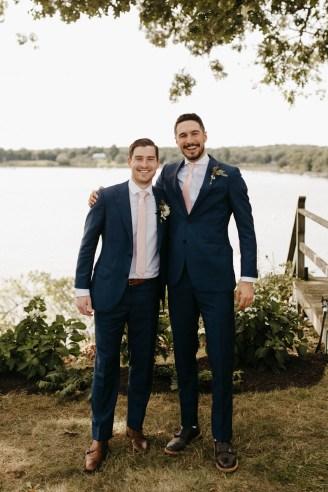 Backyard Shelter Island Wedding-47