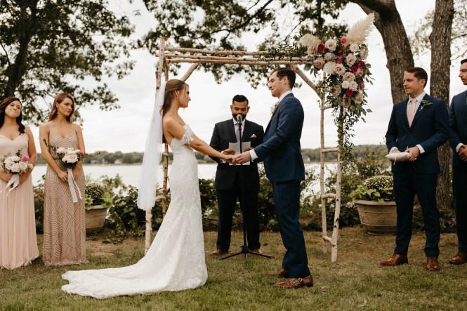Backyard Shelter Island Wedding-78