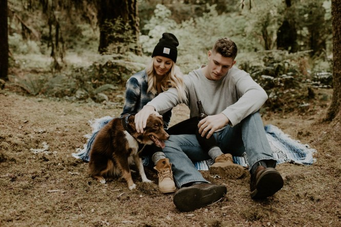 Camping Engagement Shoot-9
