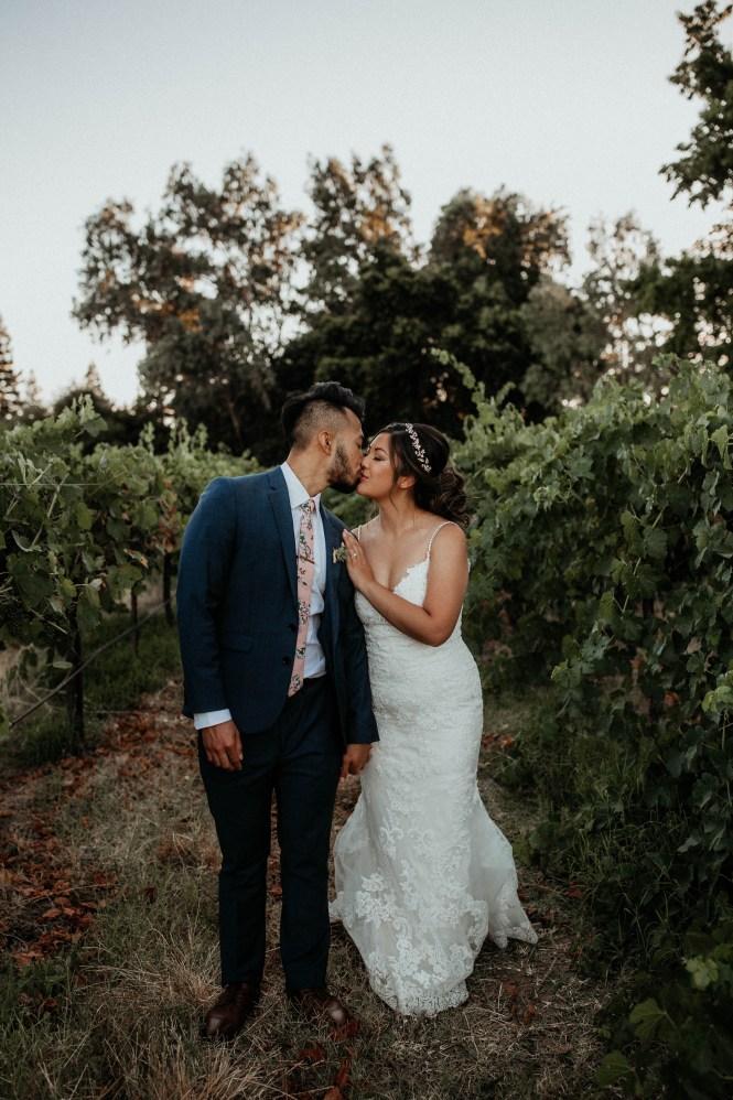 Intimate Wedding at Grace Vineyards in Galt CA-62