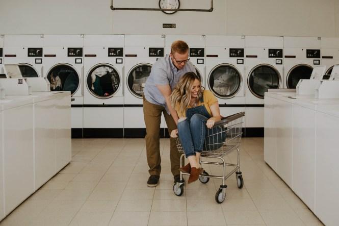Laundromat Engagement-10