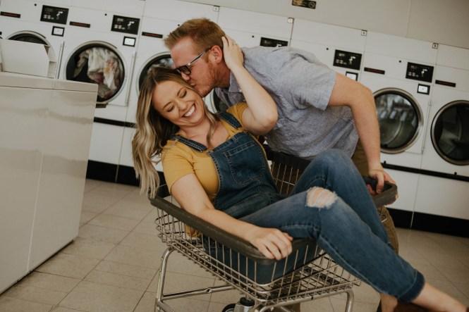 Laundromat Engagement-16